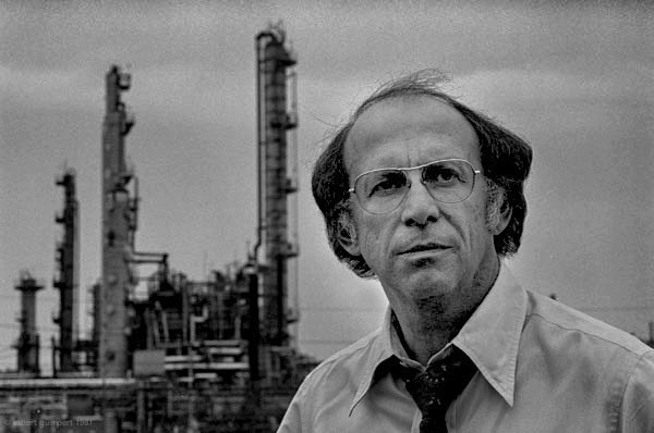 "Visionary leader of the Oil Chemical and Atomic Workers, Anthony ""Tony"" Mazzochi. 	(Photo: Robert Gumpert 1981)"