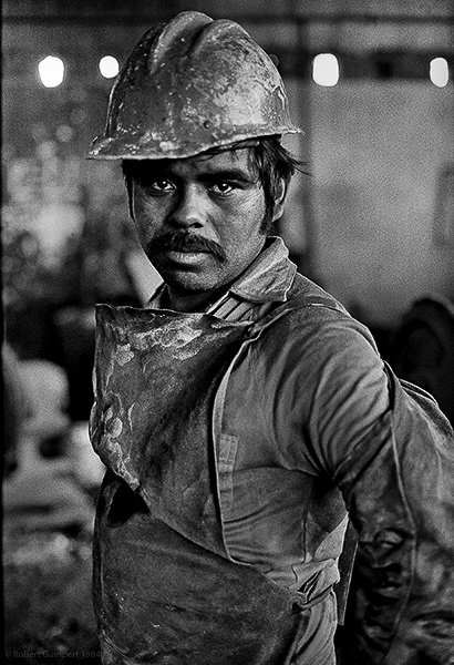 Auto parts worker. Tijuana, Mexico. 1984