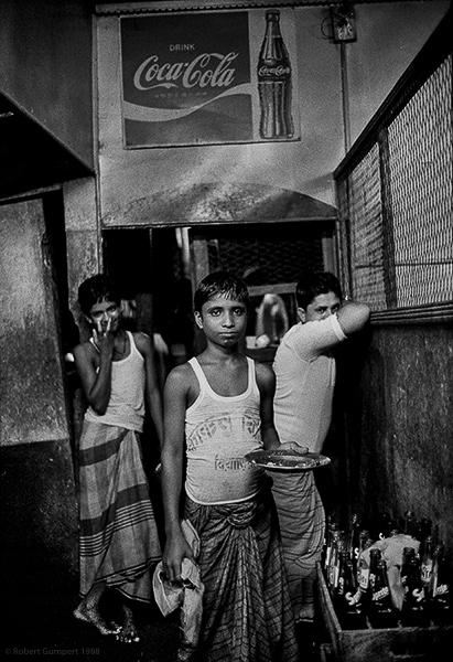 Servers. Dhaka, Bangladesh 1988